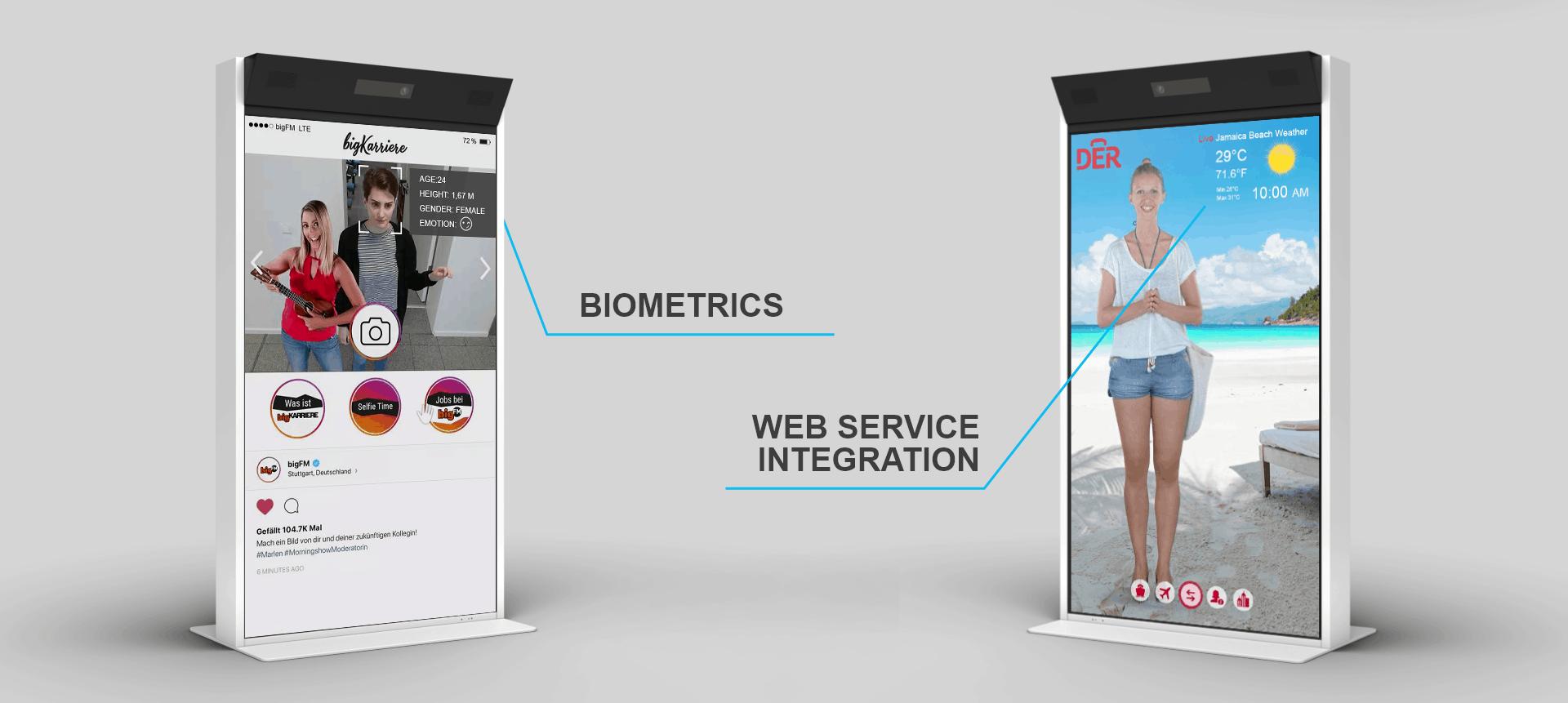 Biometrics WEB SERVICE