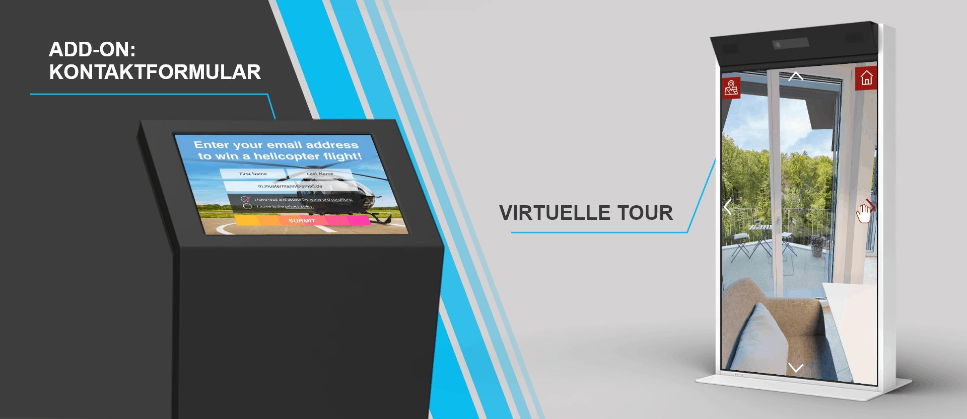 Conteact Form Virtual tour DE