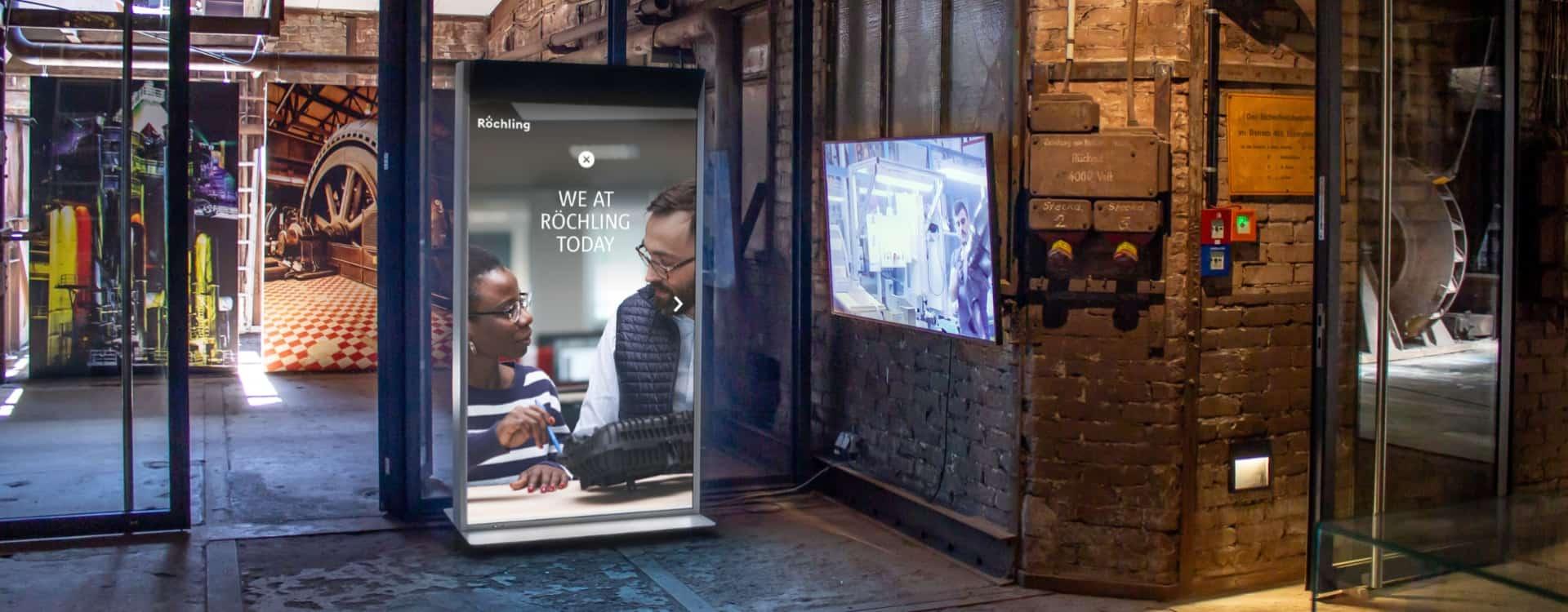 (Deutsch) Virtual Promoter – interaktives Display mit Mehrwert